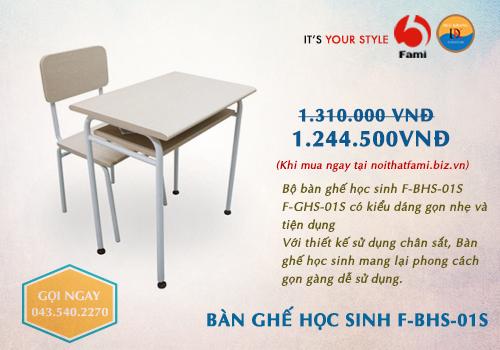 Bàn học sinh Fami FBHS-01S
