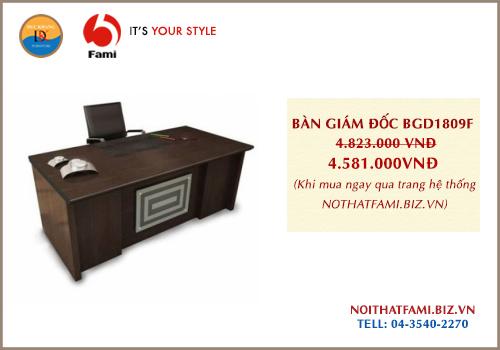 Bàn giám đốc Fami BGD1809F