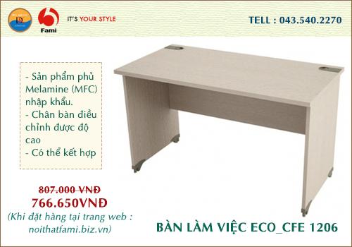 Bàn làm việc Fami Eco CFE-1206
