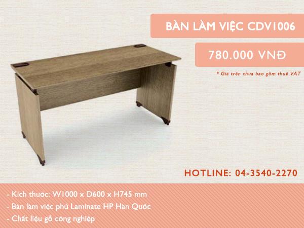Mẫu bàn CDV1006