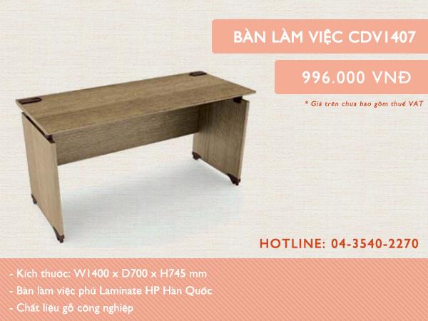 Mẫu bàn CDV1407