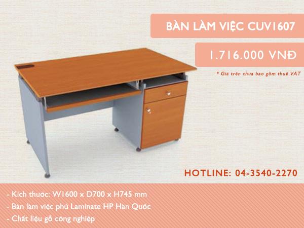 Mẫu bàn CUV 1607