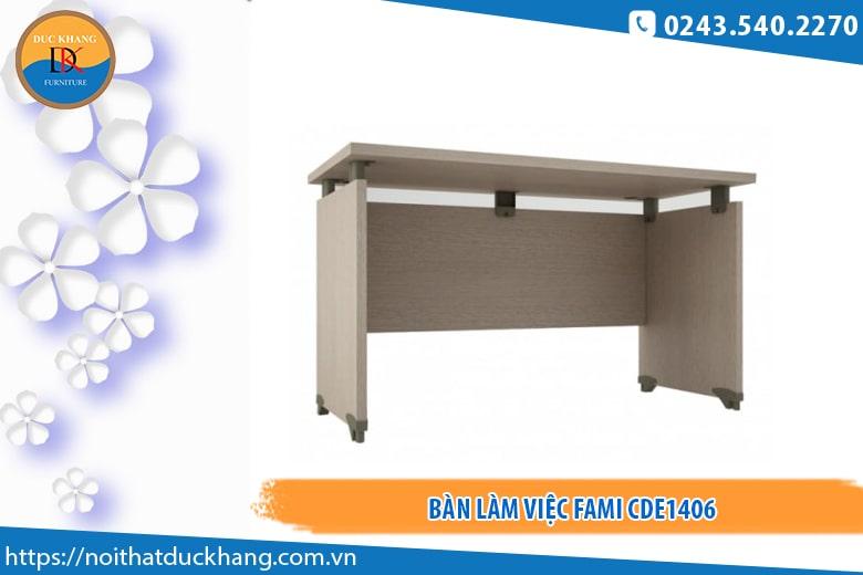 Mẫu bàn Fami CDE1406