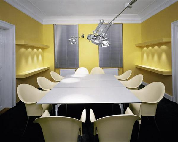 Hệ thống ánh sáng trong phòng họp