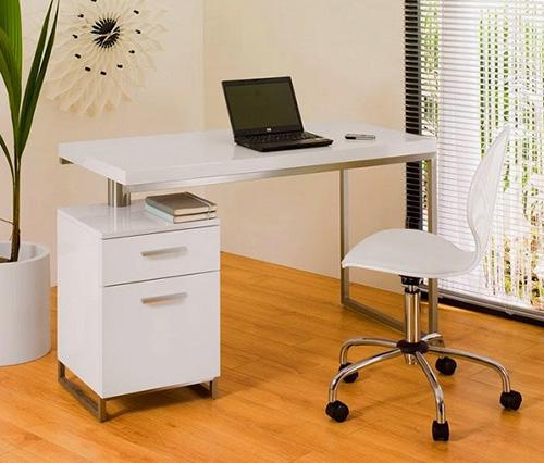 bàn làm việc nhỏ gọn đồng thời tích hợp nhiều tiện ích cho người dùng
