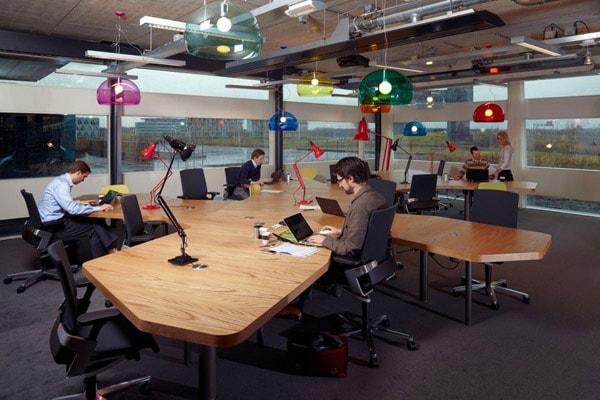 Phòng làm việc không gian mở