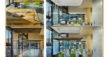 Thiết kế văn phòng sáng tạo giảm stress cho nhân viên