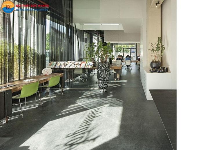 Thiết kế không gian trống dành cho nhân viên