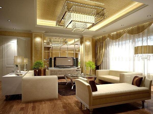 Vai trò làm đẹp của ánh sáng trong nội thất hiện đại