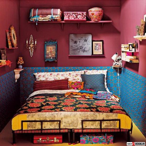 Phong cách Bohemian trong thiết kế nội thất có đặc trưng gì?