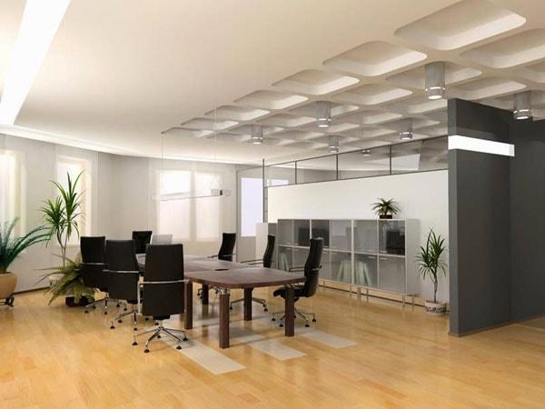 Lý do khiến sàn gỗ công nghiệp được ưa dùng trong thiết kế văn phòng