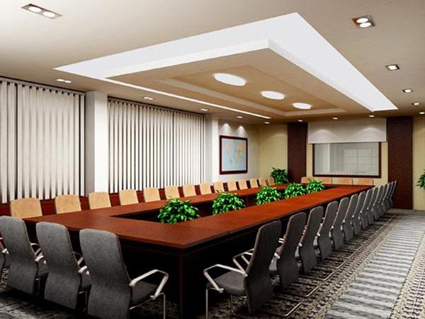 Thiết kế nội thất phòng họp và 3 điều bạn cần tránh