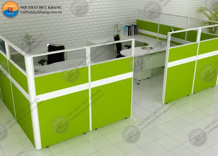 Thiết kế vách ngăn văn phòng làm việc theo khu vực cụ thể