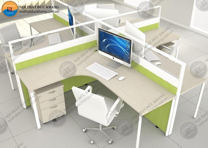 Thiết kế vách ngăn văn phòng làm việc theo tiêu chuẩn chung