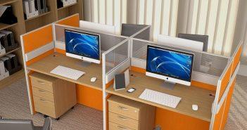 3 nguyên tắc vàng khi thiết kế vách ngăn văn phòng công sở