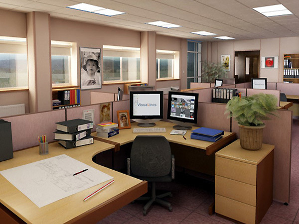 Tủ nối văn phòng giúp không gian rộng hơn