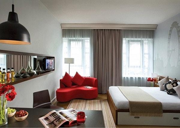 Sử dụng màu sắc nội thất cho nhà nhỏ làm sao để gây ấn tượng?