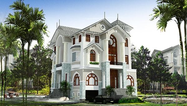 Tránh xây nhà có nhiều góc nhọn