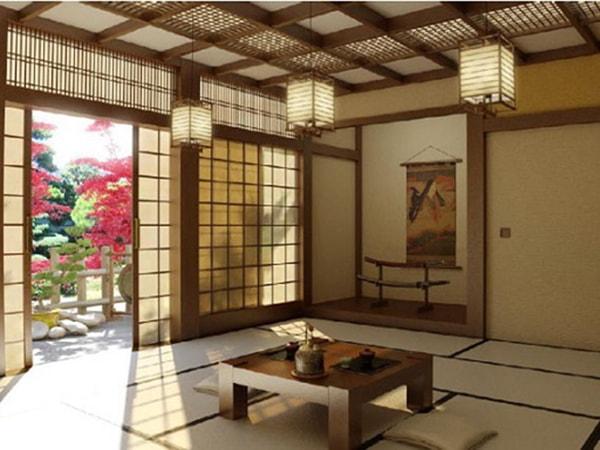 Nét đặc trưng trong thiết kế nhà ở của người Nhật
