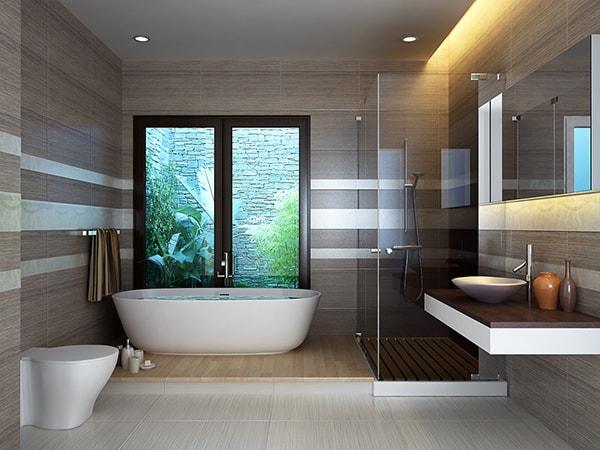 Phân khu chức năng để sử dụng nhà vệ sinh hợp lý