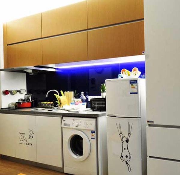 Vị trí bếp nấu đặt cạnh máy giặt hay bồn nước: có hại cho nữ gia chủ