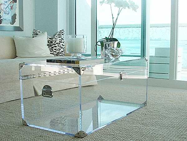 Sử dụng chất liệu Acrylic cho nội thất
