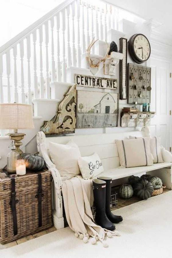 Trang trí nhà ở theo phong cách đồng quê
