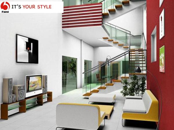 Cách thiết kế cầu thang nhà ống đẹp và cá tính