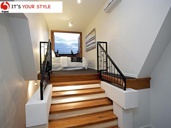 Thiết kế khoảng cách các bậc cầu thang đều giữa các tầng