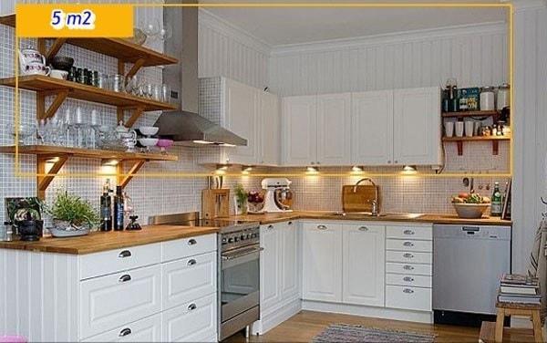 Nguyên tắc bố trí nội thất dành cho căn bếp nhỏ