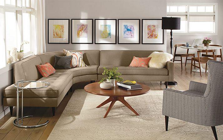 Nguyên tắc bố trí nội thất dành cho phòng khách nhỏ