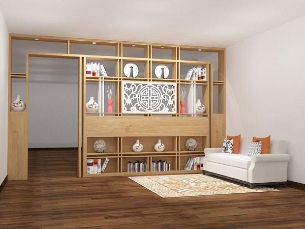 Sự kết hợp giữa gỗ và kính chắc chắn sẽ mang lại sự khác biệt