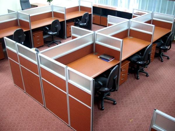 Vách ngăn văn phòng không chỉ tiện dụng mà còn rất tinh tế