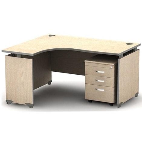 Mẫu bàn làm việc dành cho văn phòng mang kiểu dáng trẻ trung