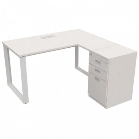 Mẫu bàn làm việc thiết kế đơn giản, tiện dụng