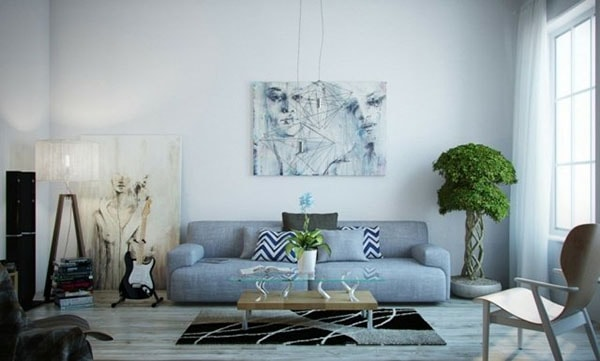 Cách trang trí phòng khách