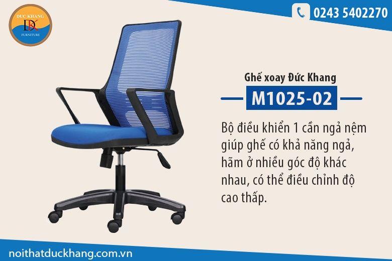 Ghế xoay Đức Khang M1025-02