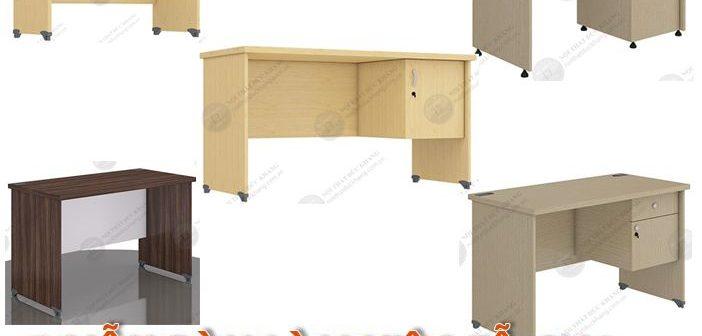 5 mẫu bàn làm việc gỗ 1m2 dưới 1,2 triệu đồng của Đức Khang