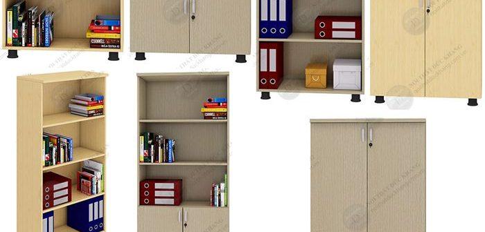 Báo giá tủ gỗ đựng tài liệu Đức Khang - 12 tủ giá chỉ từ 600k