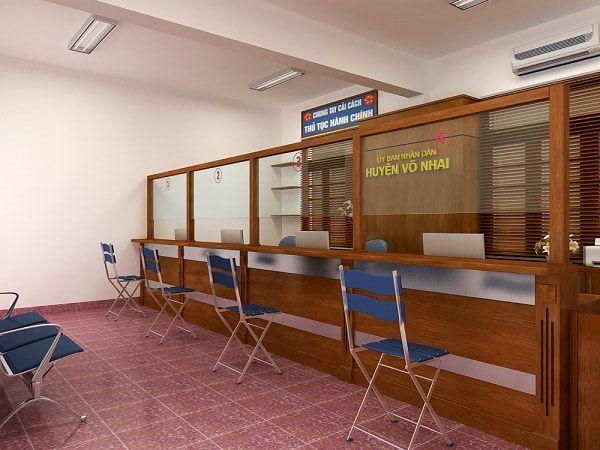 Thiết kế văn phòng giao dịch đảm bảo tính thẩm mĩ