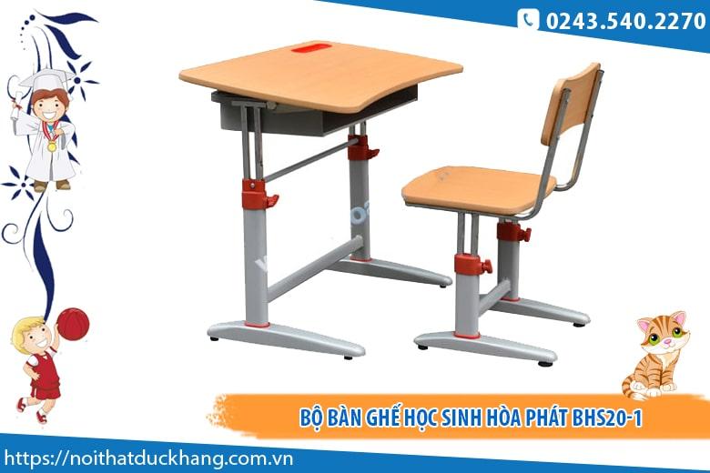 Bộ bàn ghế học sinh Hòa Phát BHS20-1