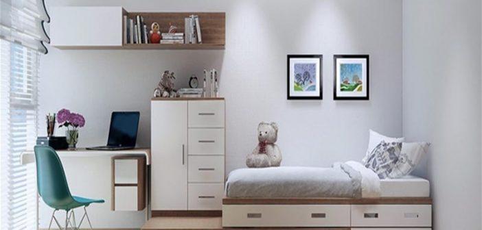 Top 5 mẫu nội thất thông minh cho phòng ngủ nhỏ 2019