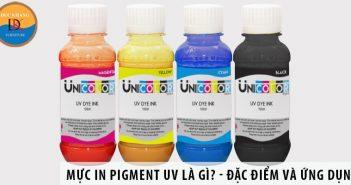 Mực Dye UV là gì? Có ứng dụng gì trong in ấn?